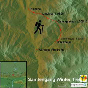 Samtengang Winter Trek